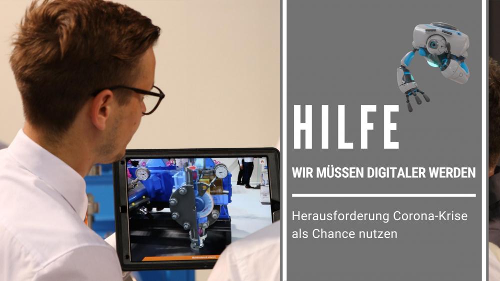 Herausforderung Digitalisierung?<br/>Wir helfen: Virtuelle Möglichkeiten im Workshop kennenlernen