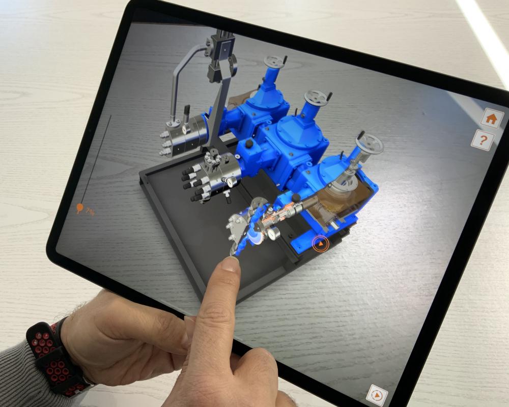 Wie Sie mit Augmented Reality (AR) Maschinen und Anlagen perfekt präsentieren