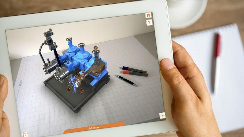 Erfolgreicher AR App Launch für LEWA